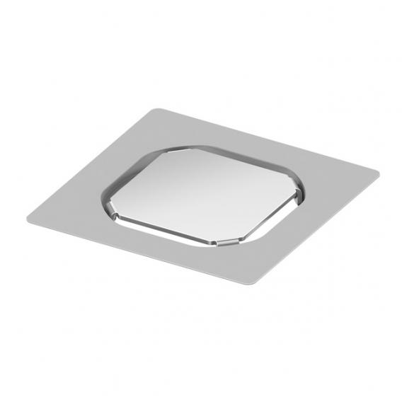 TECE drainpoint S befliesbarer Aufsatz aus Edelstahl rahmenlos L: 10 B: 10 cm