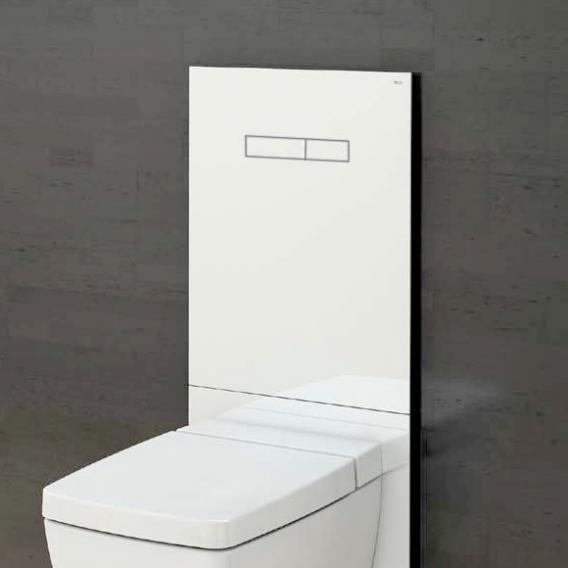TECE lux WC-Betätigungsglasplatte mit manueller Betätigung weiß