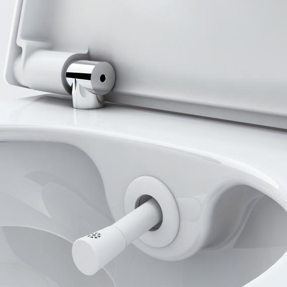 TECE one Wand-Tiefspül-WC, mit Duschfunktion SET, mit WC-Sitz