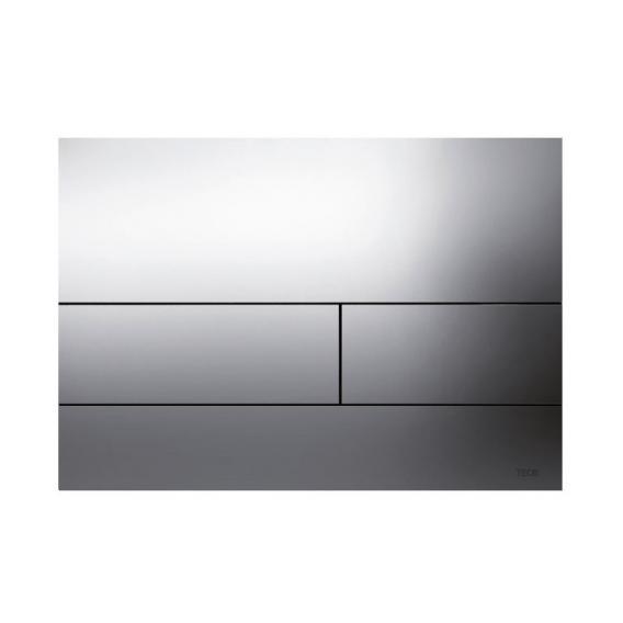 TECE square II Metall WC-Betätigungsplatte für 2-Mengen-Technik chrom
