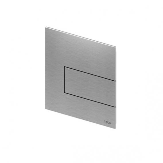 TECE square Metall Urinal-Betätigungsplatte inkl. Kartusche edelstahl gebürstet