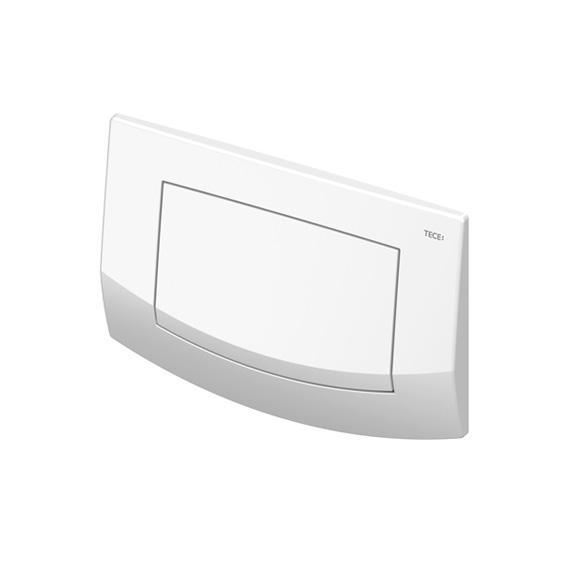 TECE ambia WC-Betätigungsplatte für 1-Mengen-Technik weiß
