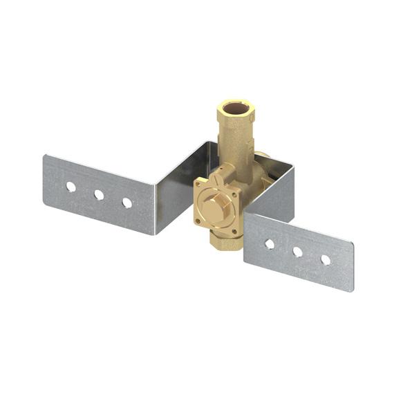 TECE box Urinalspülergehäuse für Nassbau mit Haltebügel