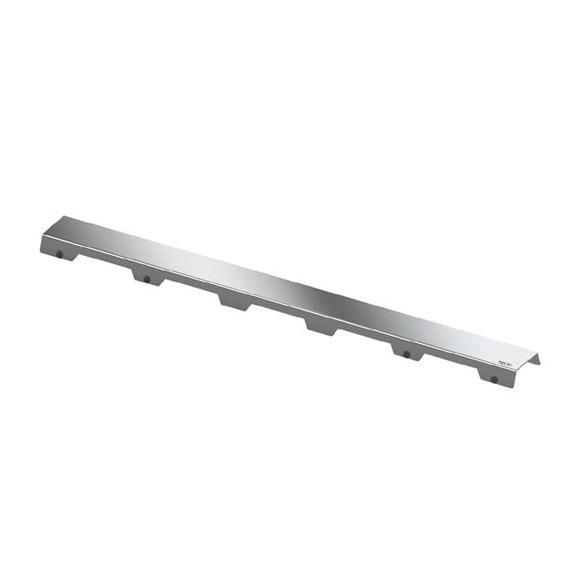 """TECE drainline Designrost """"steel II"""" für Rinne, gerade edelstahl poliert, für Duschrinne: 80 cm"""