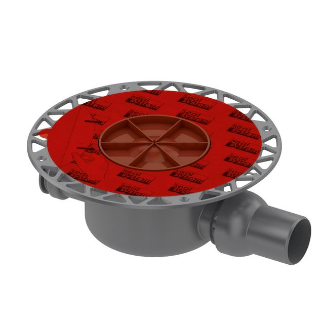 TECE drainpoint S Ablauf DN 50 Norm mit Seal System Universalflansch