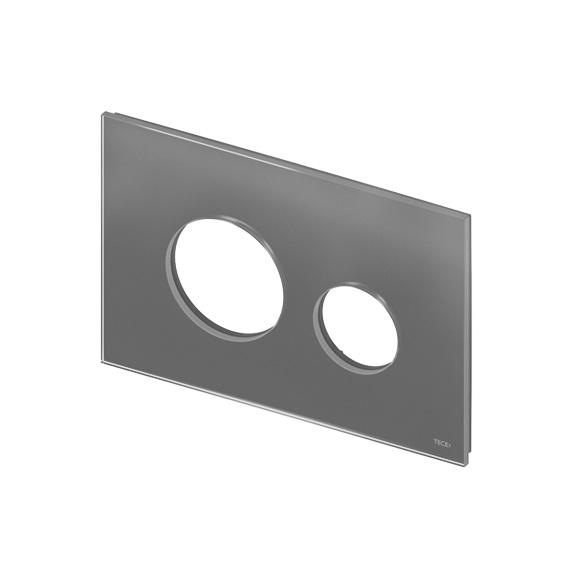 TECE loop Baukasten Blende für 2-Mengen-Technik silbergrau