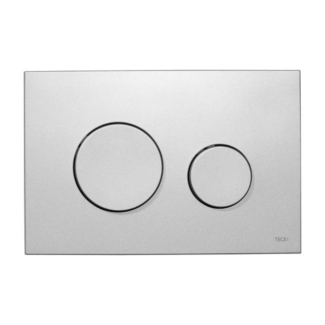 TECE loop WC-Betätigungsplatte für 2-Mengen-Technik aus Kunststoff chrom matt