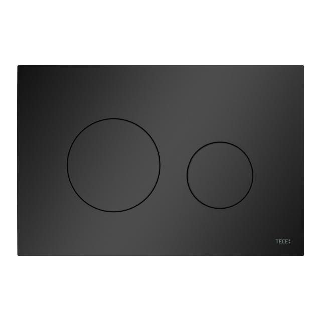 TECE loop WC-Betätigungsplatte schwarz matt