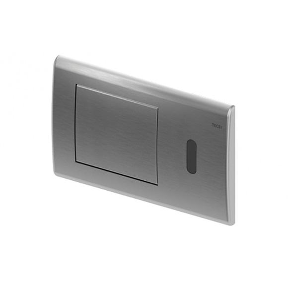TECE planus WC-Elektronik mit IR Sensor, 6 V Batterie edelstahl gebürstet