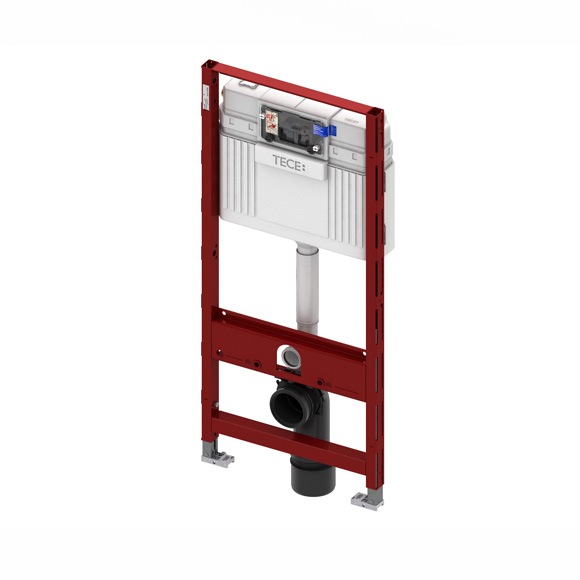 TECE profil Wand-WC-Modul, H: 112 cm, mit TECE-Spülkasten, Betätigung von vorne