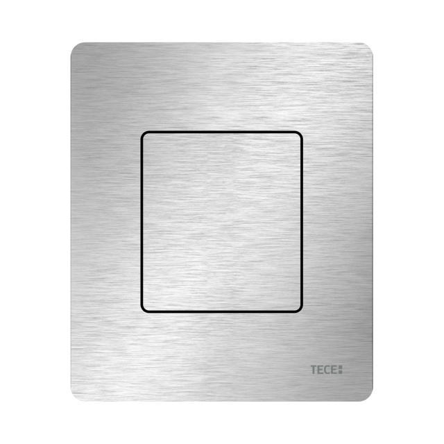 TECE solid Urinalbetätigungsplatte inklusive Kartusche edelstahl gebürstet (ohne Anti-Fingerprint)