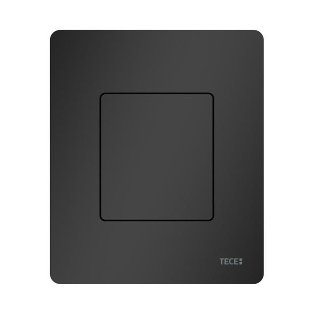 TECE solid Urinalbetätigungsplatte inklusive Kartusche schwarz matt