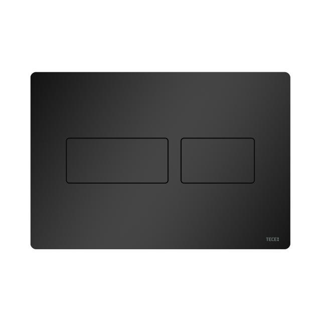 TECE solid WC-Betätigungsplatte schwarz matt