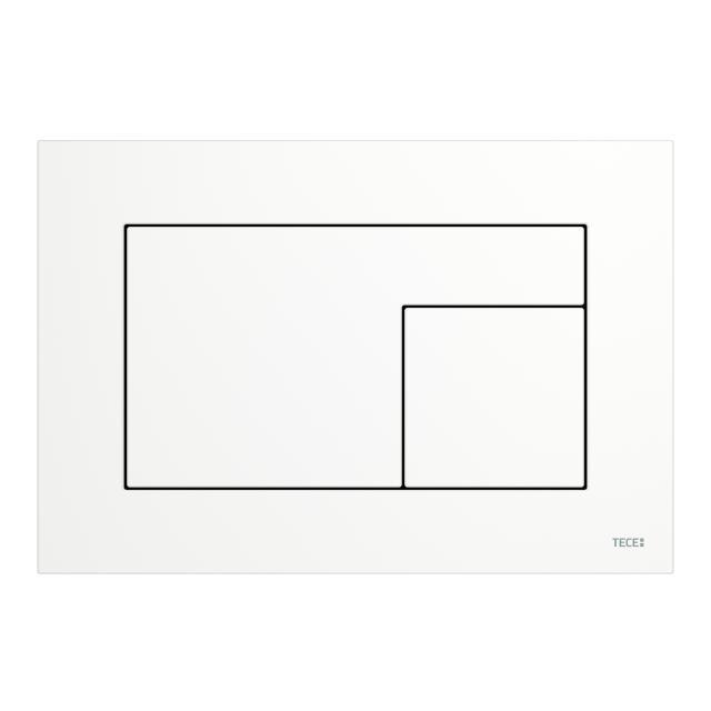 TECE velvet WC-Betätigungsplatte bianco kos/weiß