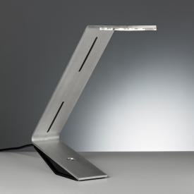 TECNOLUMEN Flad LED Tischleuchte mit Dimmer