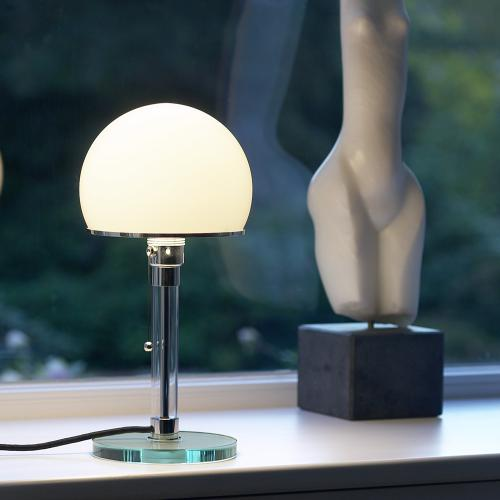 tecnolumen wagenfeld wg 24 tischleuchte wg24 reuter. Black Bedroom Furniture Sets. Home Design Ideas