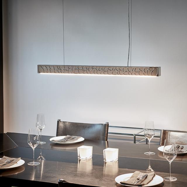 TECNOLUMEN Theia LED Pendelleuchte mit Dimmer