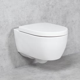 Geberit iCon & Tellkamp Premium 1000 Wand-WC-SET: WC ohne Spülrand, mit KeraTect, WC-Sitz ohne Absenkautomatik