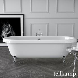 Tellkamp Antiqua Plus freistehende Oval Badewanne
