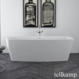Tellkamp Arte freistehende Badewanne weiß glanz