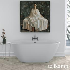 Tellkamp Cosmic XS freistehende Badewanne weiß matt, Schürze weiß matt