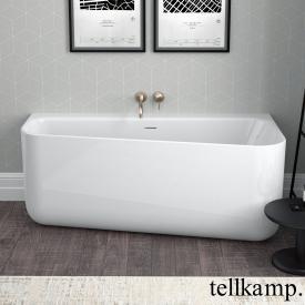Tellkamp Koeko Vorwand-Badewanne mit Verkleidung weiß glanz, ohne Füllfunktion