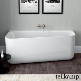 Tellkamp Koeko R Raumspar-Badewanne, Ausführung rechts weiß glanz, ohne Füllfunktion