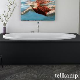 Tellkamp Neon Fix Oval Badewanne weiß matt, ohne Füllfunktion