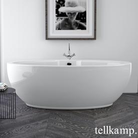 Tellkamp Orbital Freistehende Oval-Badewanne weiß glanz, ohne Füllfunktion