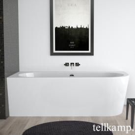 Tellkamp Pio Eck-Badewanne weiß glanz, Schürze weiß glanz