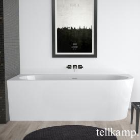 Tellkamp Pio Raumspar-Whirlwanne mit Verkleidung weiß glanz, Schürze weiß glanz