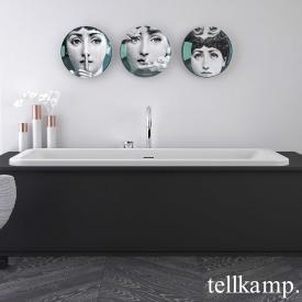 Tellkamp Pura Fix Rechteck-Badewanne weiß matt, ohne Füllfunktion