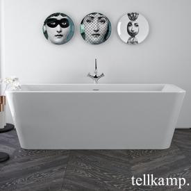 Tellkamp Pura Freistehende Rechteck-Badewanne weiß glanz, ohne Füllfunktion