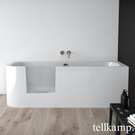 Tellkamp Salida L Rechteck Badewannen mit Tür links weiß glanz