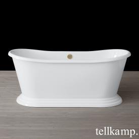 Tellkamp Scala Base freistehende Oval Badewanne weiß