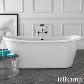 Tellkamp Scala freistehende Oval Badewanne weiß glanz