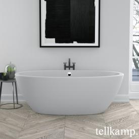 Tellkamp Space XS freistehende Badewanne weiß matt, Schürze weiß matt