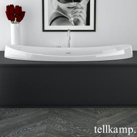 Tellkamp Spirit Fix Oval Badewanne weiß glanz, ohne Füllfunktion