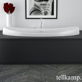Tellkamp Spirit Fix Oval Badewanne weiß matt, ohne Füllfunktion