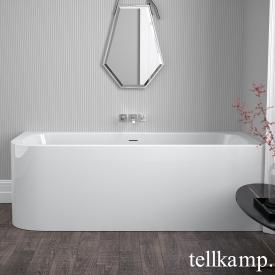 Tellkamp Thela Raumspar-Badewanne mit Verkleidung weiß glanz, ohne Füllfunktion