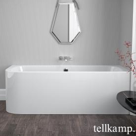 Tellkamp Thela L Eck-Whirlwanne weiß glanz