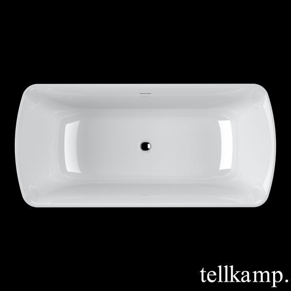 Tellkamp Komod Rechteck-Badewanne weiß glanz, ohne Füllfunktion