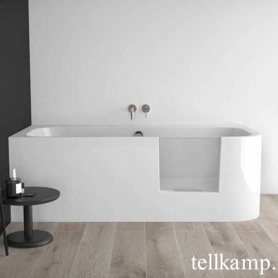 Tellkamp Salida Rechteck-Badewanne mit Tür weiß glanz