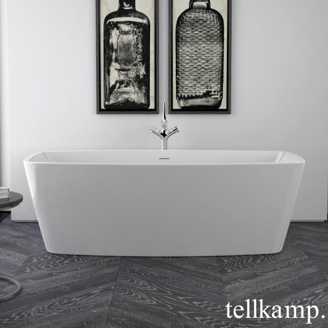 Tellkamp Arte Freistehende Rechteck-Whirlwanne weiß glanz