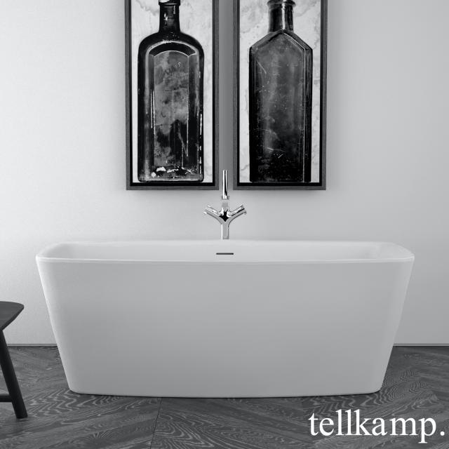 Tellkamp Arte Freistehende Rechteck-Badewanne weiß matt