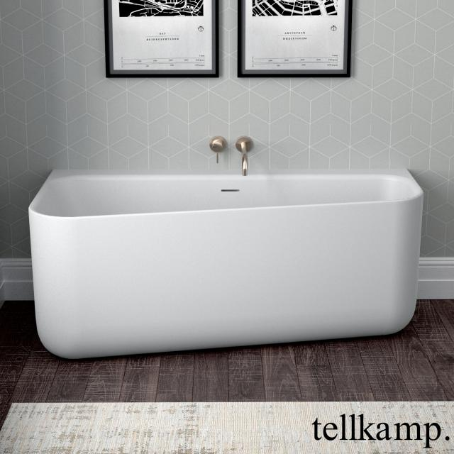 Tellkamp Koeko Vorwand-Badewanne mit Verkleidung weiß matt, ohne Füllfunktion