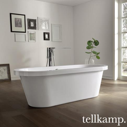 tellkamp elegance freistehende oval badewanne 0100 067 b cr reuter. Black Bedroom Furniture Sets. Home Design Ideas