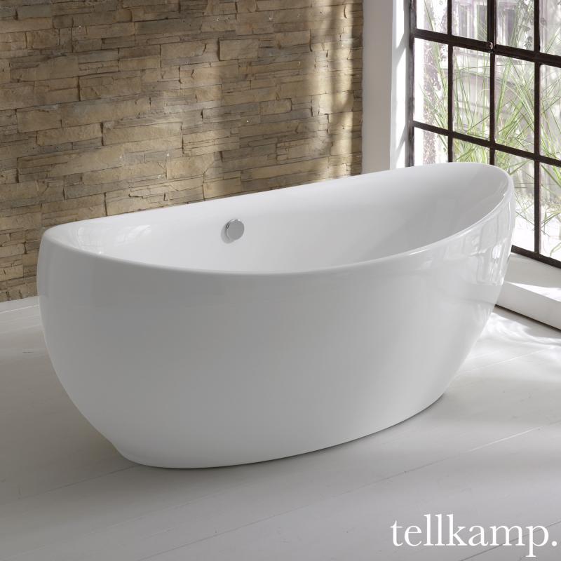 tellkamp spirit freistehende oval badewanne 0100 083 a cr reuter. Black Bedroom Furniture Sets. Home Design Ideas