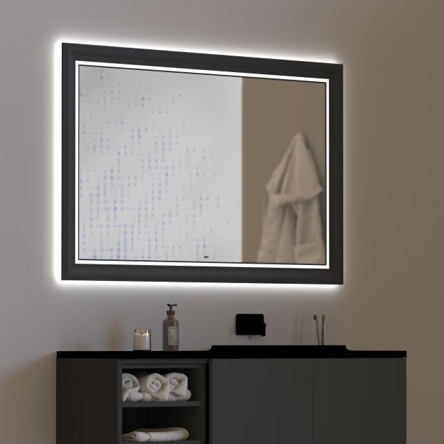 Top Light Castle Light Spiegel mit LED-Beleuchtung mit Dimmer und CCT