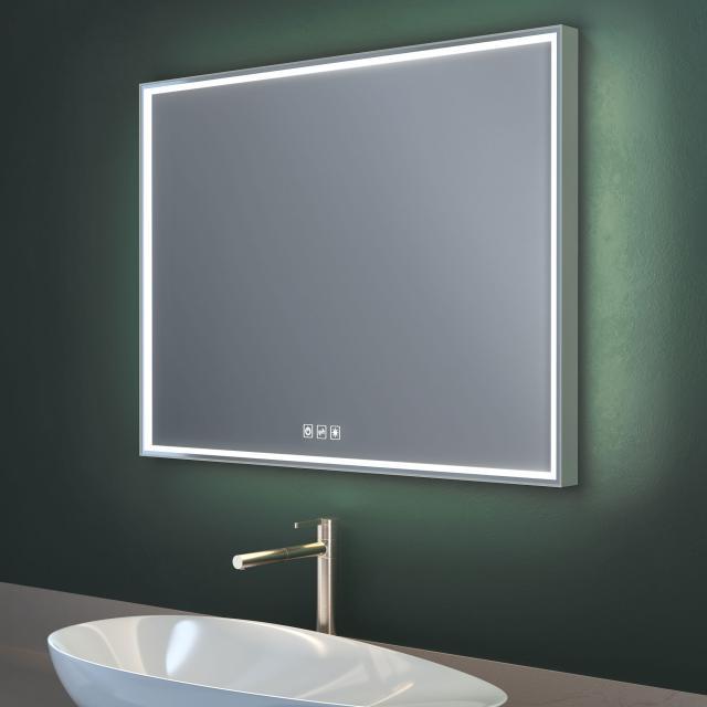 Top Light Lumen Light Spiegel mit LED-Beleuchtung mit Dimmer und CCT